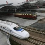 The CRH2 China Railways High-speed bulle