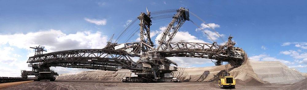 doner-kepceli-ekskavator Dünyadaki En Büyük İnşaat Makinası