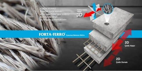 forta-ferro-fiber-donatı-4 Forta-Ferro : Kusursuz Betonun DNA'sı
