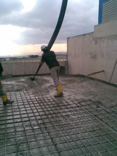 soguk-havada-beton-dökümü Beton Dökerken Nelere Dikkat Edilmelidir ?