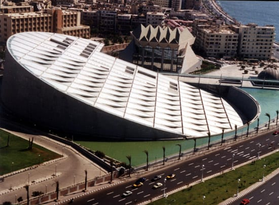 iskenderiye-kütüphanesi Dünyanın En Güzel Binaları
