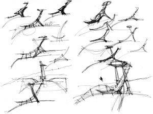 eskiz-örnekleri-32-300x223 Mimarlar İçin Eskiz Örnekleri