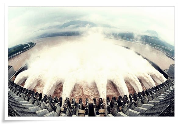 Üç-Boğaz-Barajı Dünya'dan Çeşitli Mühendislik Harikaları