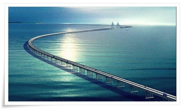 Jiangzhou-Bay-Köprüsü Dünya'dan Çeşitli Mühendislik Harikaları