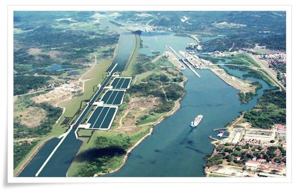 panama-kanalı-1 Dünya'dan Çeşitli Mühendislik Harikaları