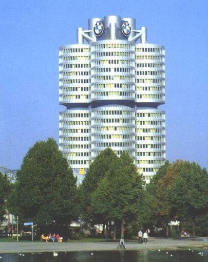 BMW-Binası-MUNIH Döşeme Kaldırma Sistemleri ( Lift-Slab)