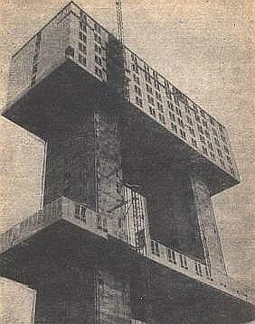 Birleşmiş-Milletler-Binaları-Newyork Döşeme Kaldırma Sistemleri ( Lift-Slab)