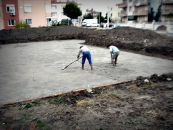 grobeton-nedir-nasıl-dökülür-6-350x263 Beton Çeşitleri ve Kullanım Yerleri