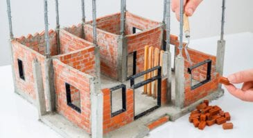 minyatür inşaat yapımı
