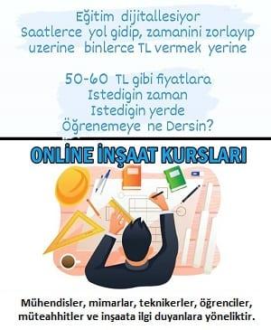 online inşaat kursları
