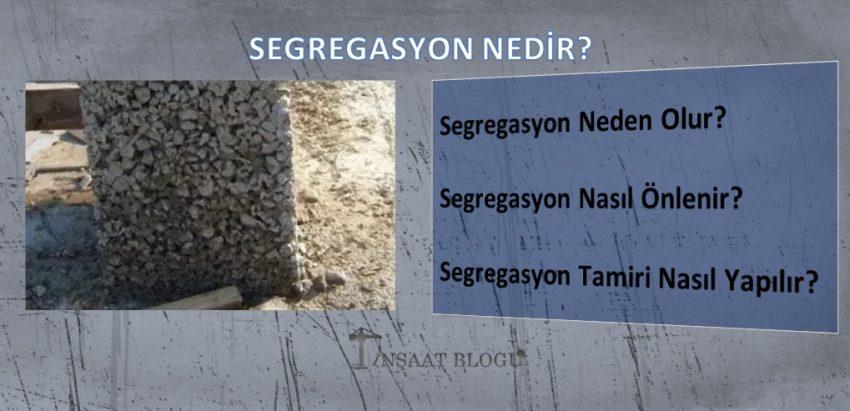 segregasyon ne demek