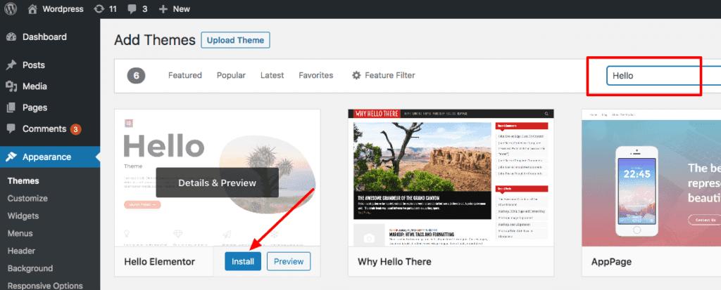 WordPress tema değiştirmek SEO